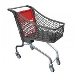 Carrinho de Compras de Plástico sem porta-bebe - 98L