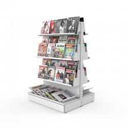 Estante Central de Revistas e Jornais