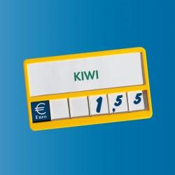 Display com números para Preços