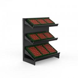 Estante de Fruta e Legumes