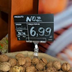 Placa imitação ardósia para Preço de Fruta