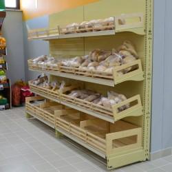 Estante - Prateleira Pao para Supermercado