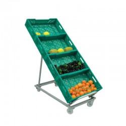 Expositor Caixas de Fruta e Legumes