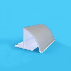 Perfil guia para divisórias e empurradores de embalagens