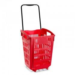 Cesto de compras com 2 rodas