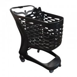 Carro de compras ECO com porta-bebe - 90L