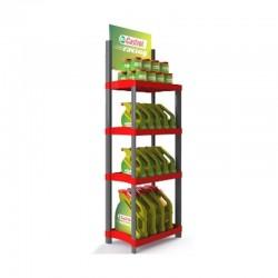 Expositor Promocional de Plástico para Lojas