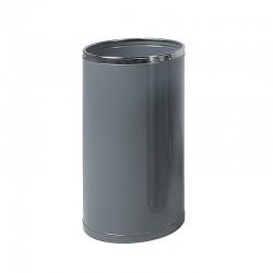 Papeleira redonda com aro inox - 23L
