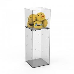 Cubo de acrílico para vendas avulso