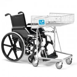 Carro de compras para Pessoas com mobilidade reduzida