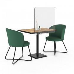 Separação de acrílico para mesas