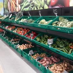 Estante de Fruta e Legumes para Supermercado