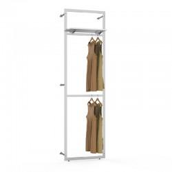 estante para loja de roupa