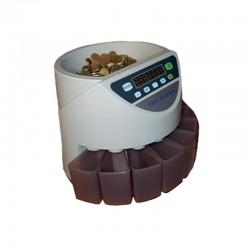 Máquina para contar e separar moedas