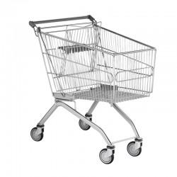 Carrinhos de Compras de Arame com porta-bebé - 160L