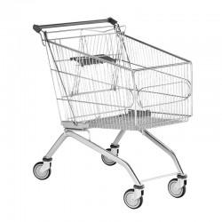 Carrinhos de Compras de Arame com porta-bebé - 180L