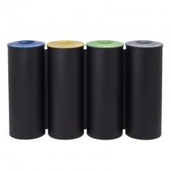 Ecoponto em bloco com 4 contentores - 50L