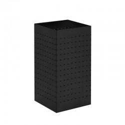 Papeleira quadrada com chapa perfurada - 27L