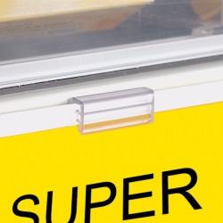 Pinça adesiva para Comunicação de Loja