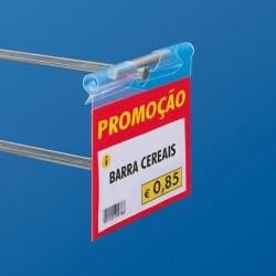 """Etiqueta Porta-Preço """"PROMOÇÃO"""" para Ganchos"""