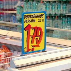 Sinalética para Arcas Frio de Supermercado
