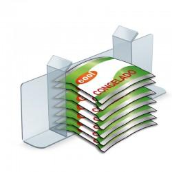 Divisória com suporte etiquetas para Arcas Frio