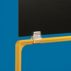 Clip conector de Caixilho e Stopper
