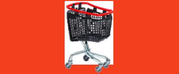 Carros de compras de Plástico