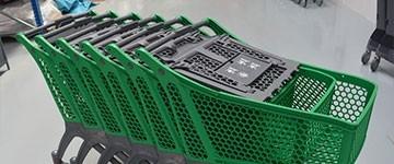 Outlet - Carros e cestas de compras